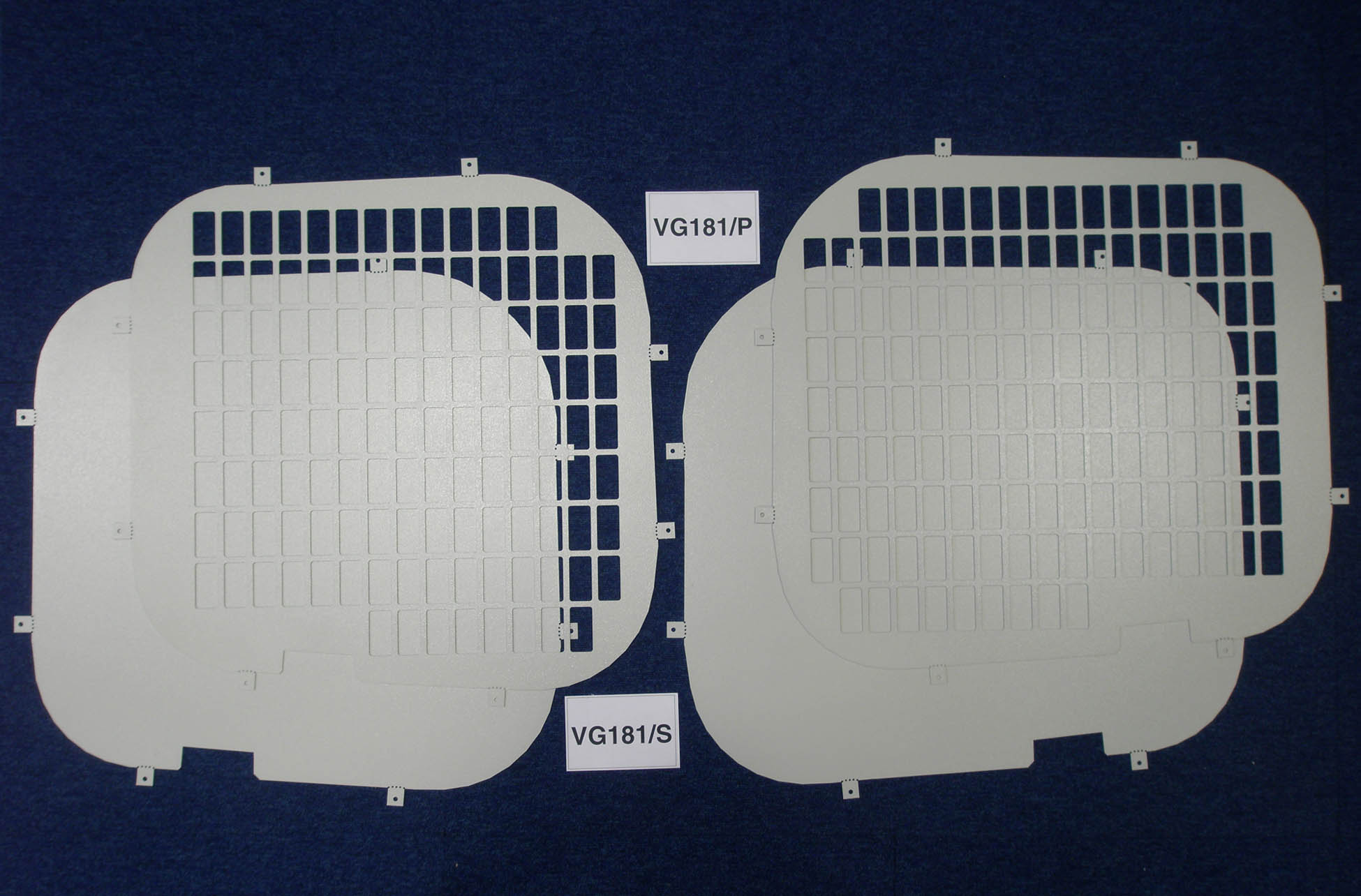 Nissan Primastar Van Rear Window Grilles Amp Blanks