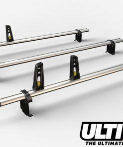 3 Bar Heavy Duty Roof Bars For The High Roof Nissan Primastar Van VG211/3