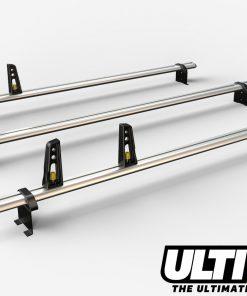 3 Bar Heavy Duty Aluminium Roof Bars For The Peugeot Boxer Van Oct 2006 On VG245/3