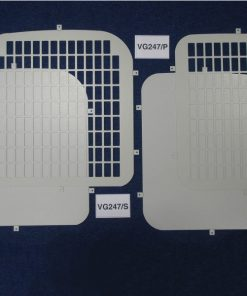 Fiat Scudo Van Rear Window Grilles & Blanks - Feb 2007 On VG247