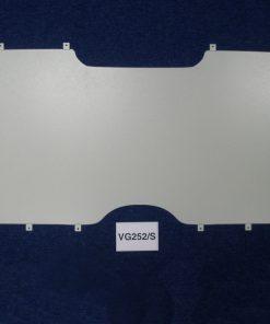 Citroen Dispatch Rear Van Tailgate Grille & Blank - Feb 2007 On VG252