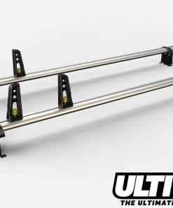 2 Bar Heavy Duty Roof Bars For The Low Roof Vauxhall Vivaro Long Wheel Base Van VG255/2/LWB