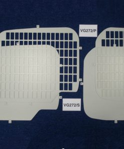 Citroen Berlingo 2008 Van Rear Window Grilles & Blanks VG272
