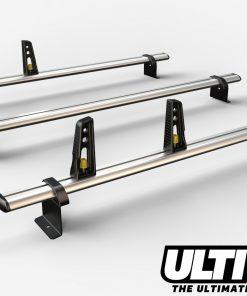 3 Bar Heavy Duty Aluminium Roof Bars For The NV200 Van VG282-3
