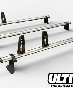 3 Bar Reinforced Aluminium Roof Rack For The Fiat Doblo March 2010 On Van VG284-3
