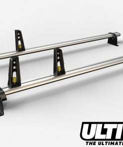 2 Bar Heavy Duty Aluminium Roof Bars For The Renault Master May 2010 On Van VG286/2