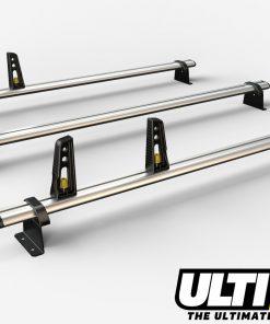 3 Bar Heavy Duty Aluminium Roof Bars For The Vauxhall Movano May 2010 On Van VG286/3