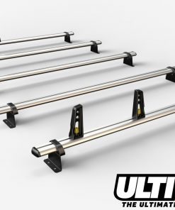 5 Bar Heavy Duty Aluminium Roof Bars For The Renault Lwb and Ex Lwb Master May 2010 On Van VG286/5