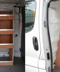 Trafic, Vivaro or Primastar Factory Bulkhead Fitted Shelving System