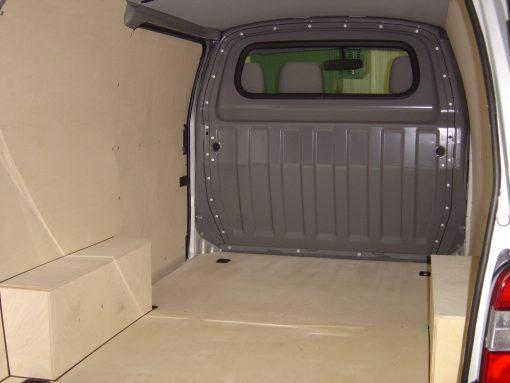 Toyota Short Wheel Base Hi-Ace Van Ply Lining Kit - Pre Oct 2006