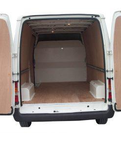 Medium Wheel Base Low Roof Ford Transit Van Ply Lining Kit - 2000 On