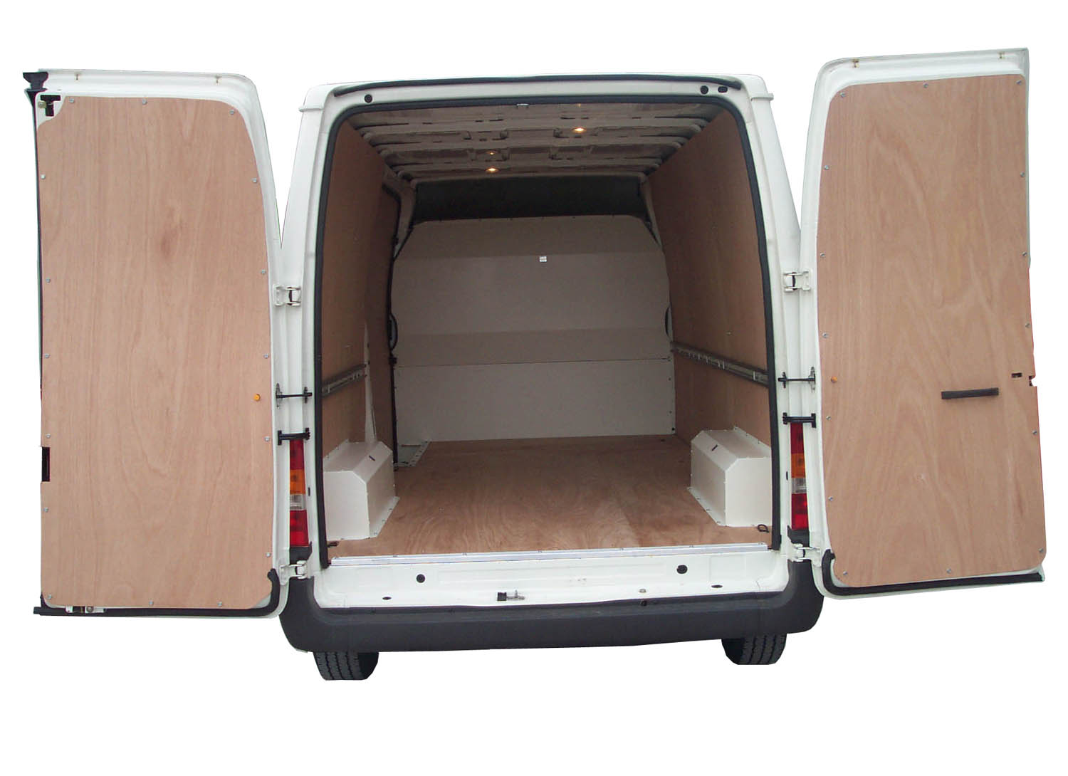 Medium Wheel Base Ford Transit Van Ply Lining Kit Pre