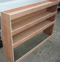 Ford Connect Van Plywood Shelving System