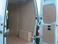 Vauxhall Medium Wheel Base Movano Pre 2010 Van Ply Lining Kit