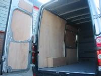 VW MWB New Shape Crafter Van Ply Lining Kit