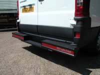 Straight T Bar Bumper Protection with Recess Step