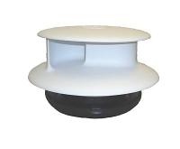 Flettner TCX 2 Wind Driven Van Roof Rotating Air Vent White