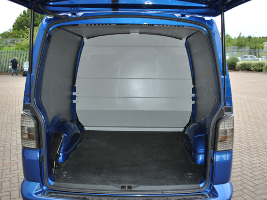 Van Roof Racks >> VW T5/T6 Transporter Kombi Van (with twin sliding doors) Mid Bulkhead - Plyline UK LtdPlyline UK Ltd