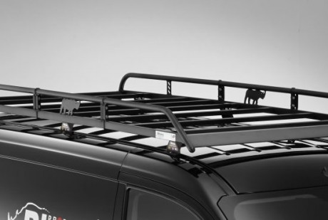 Peugeot Expert 2016 On Rhino Modular Roof Rack Plyline